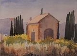 Italian Barn by James Roberts, Painting, Watercolour on Paper