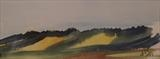 Rolling Hills by James Roberts, Painting, Watercolour on Paper